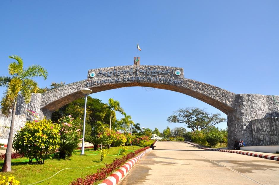 największy w Birmie ogród zoologiczny