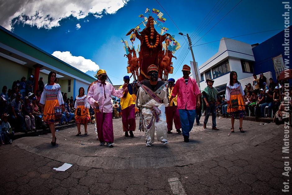 Kościelne święto w Ekwadorze