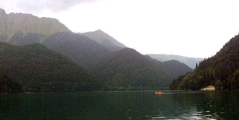 Podróż przez Abchazję w Gruzji