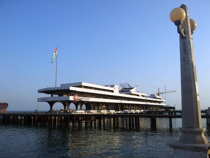Nad morzem w Abchazji