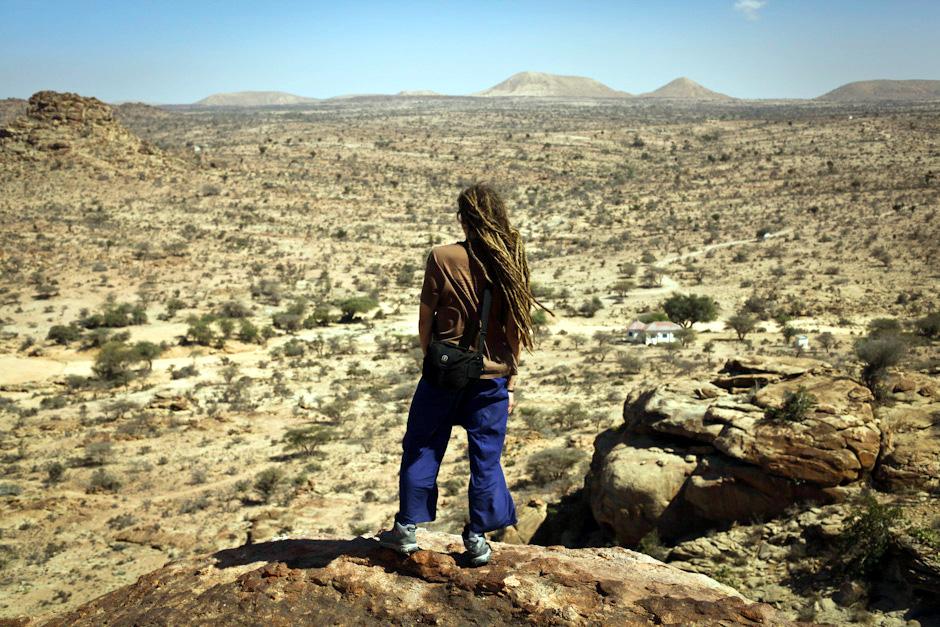Somalia, podróż przez pustynię