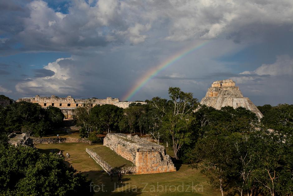 Ruiny Majów w Meksyku - foto