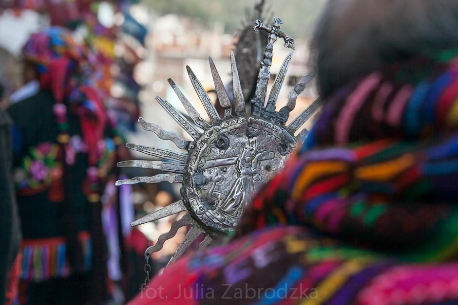 Katolicka procesja w Ameryce Południowej