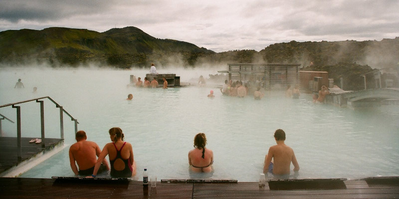 Islandia - gorące źródła