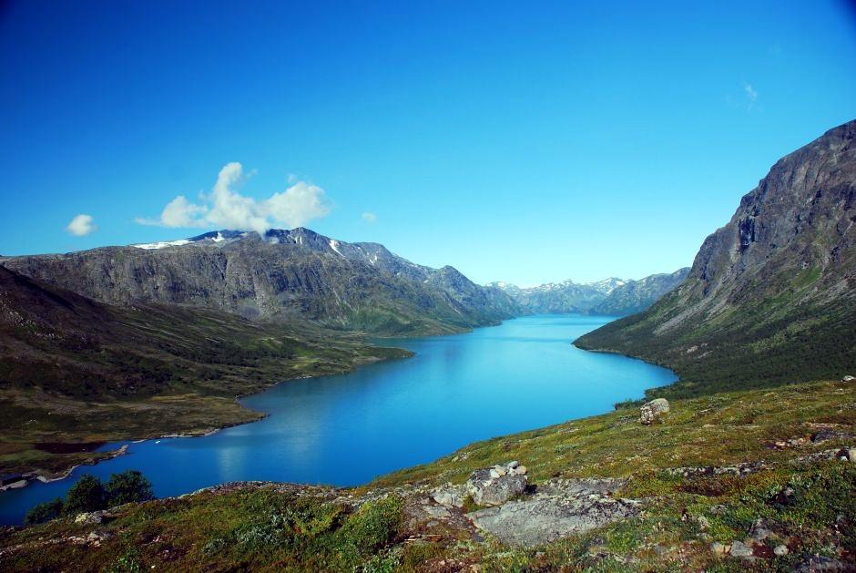 Piękno norweskiego krajobrazu - foto z wycieczki