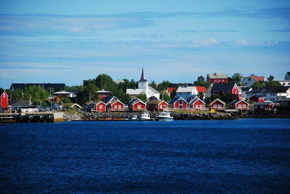 Miasteczko jak z bajki - podróż do Norwegii - zdjęcia