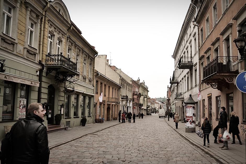 Aleja Wolności w Kownie - zdjęcia