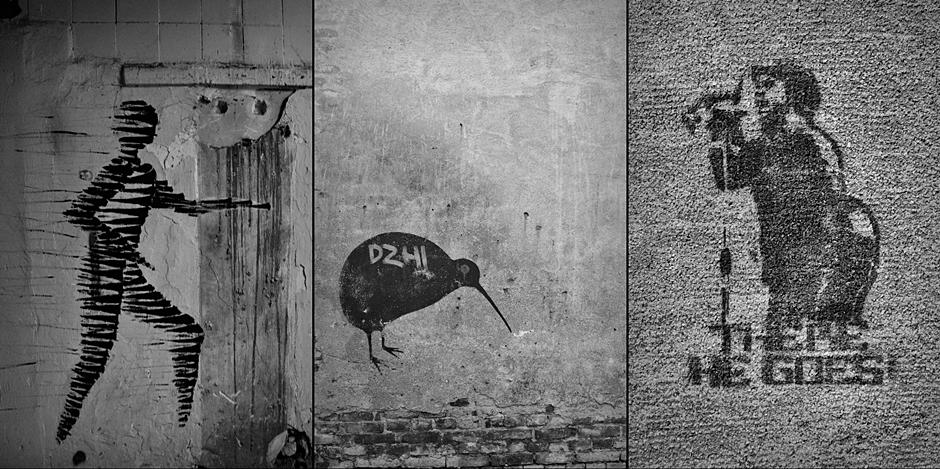 Street art na Litwie - foto, zdjęcia