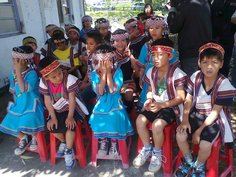 Dzieci z plemienia Bunun. (Fot. Aleksandra Skorek)