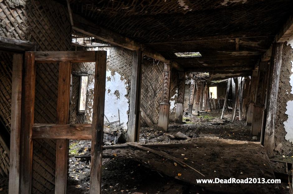 Wnętrze rosyjskiego łagru na Syberii - foto, zdjęcia