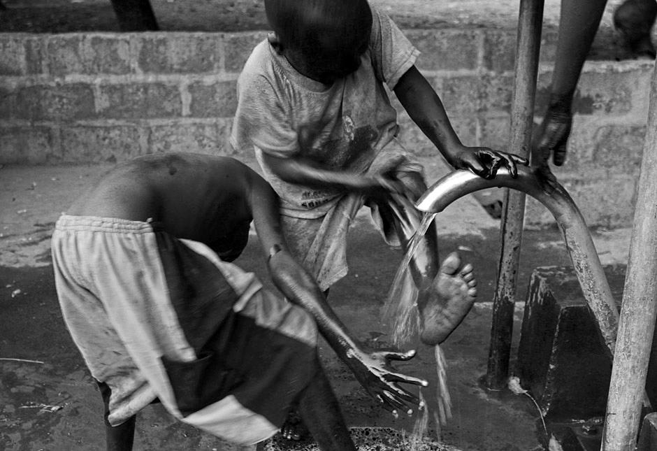 Studnia w Afryce