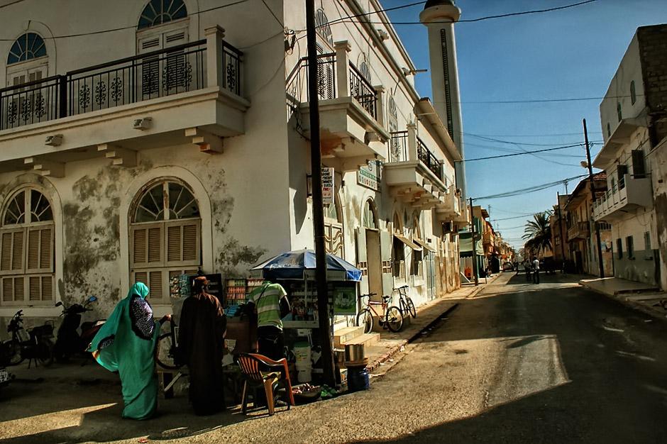 Lokalny afrykański sklepik - zdjęcia z Senegalu