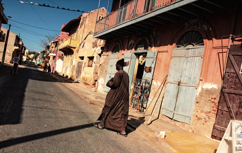 Zniszczone miasta Afryki - Saint Louis w Senegalu