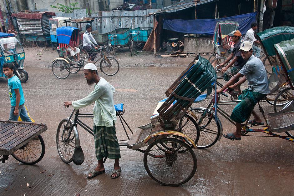 Riksze rowerowe - podróż do Bangladeszu - zdjęcia