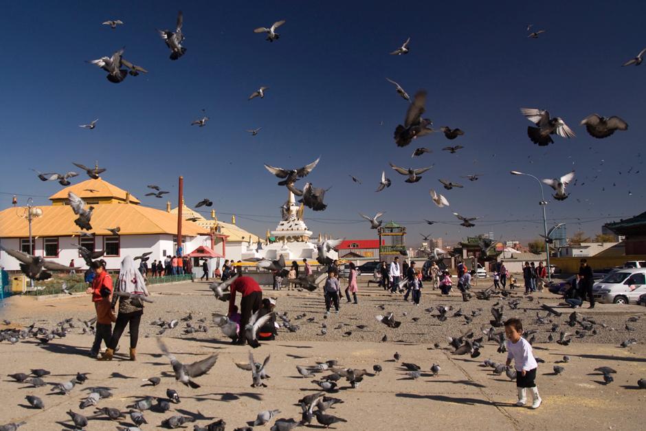 Turystyczne miejsca w Mongolii
