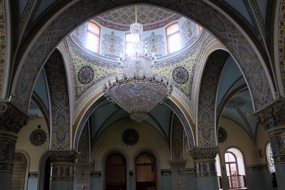 Meczet w muzułmańskiej części Baku - foto wycieczka