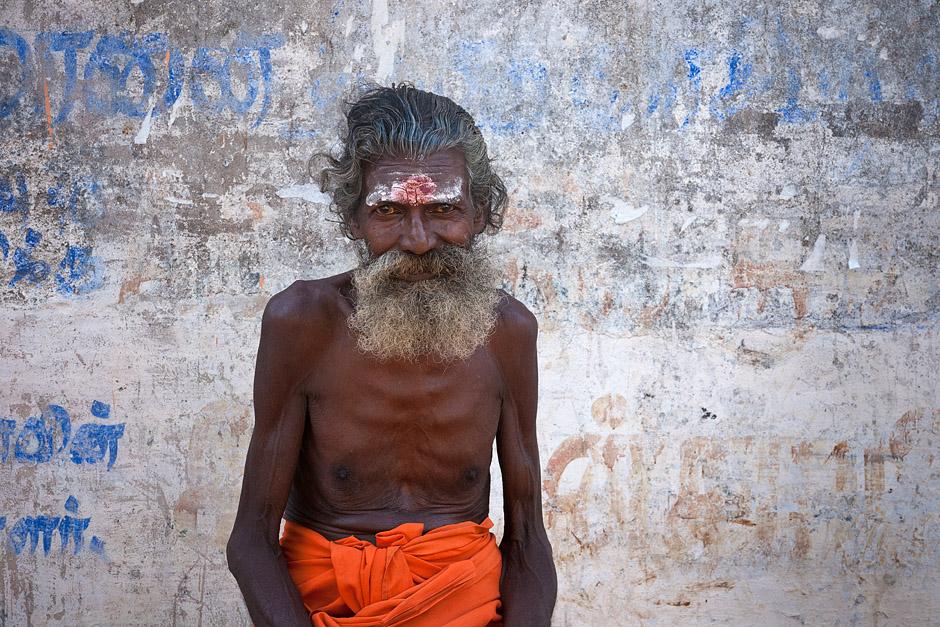 Hinduski sadhu - foto z podróży
