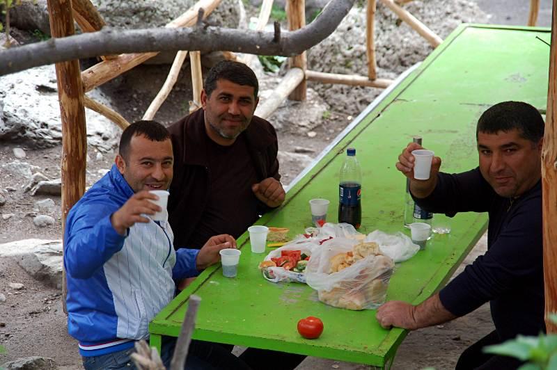 Uczta w Armenii