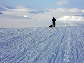 Spitsbergen - wyprawa - lodowiec Svalbreen