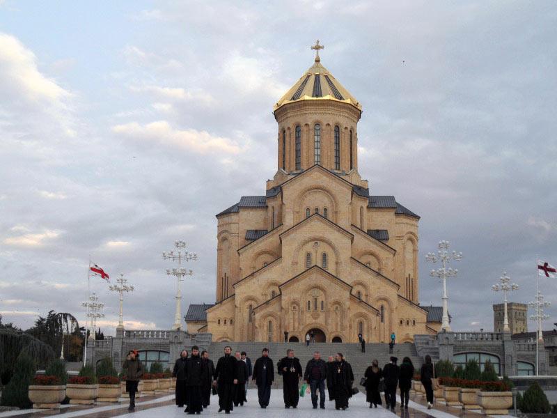 Sobór świętej Trójcy w stolicy Gruzji
