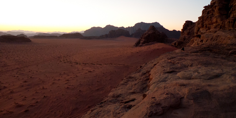 Wieczór na Wadi Rum