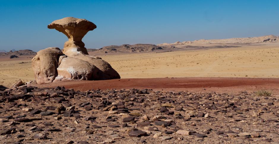 Skały Wadi Rum