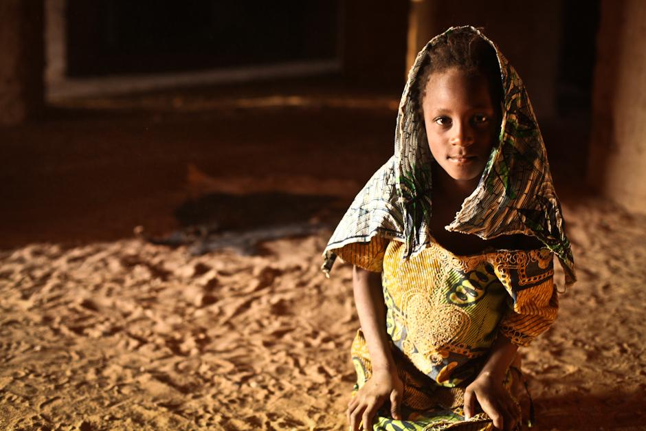 Dzieci w Burkina Faso - zdjęcie dziewczynki