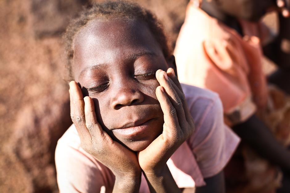 Podróż do Burkina Faso - dzieci na zdjęciach