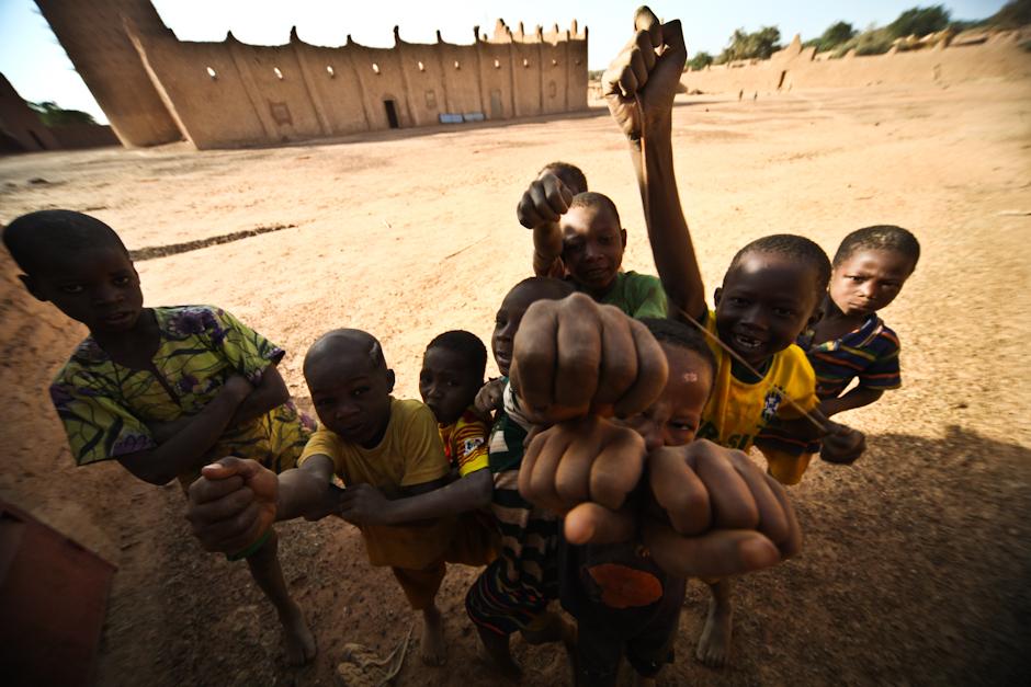 Dzieci z Burkina Faso - foto