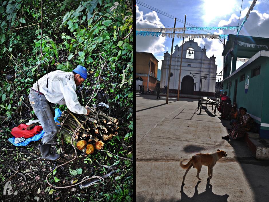 Praca w Gwatemali i leniwe popołudnie - zdjęcia z podróży