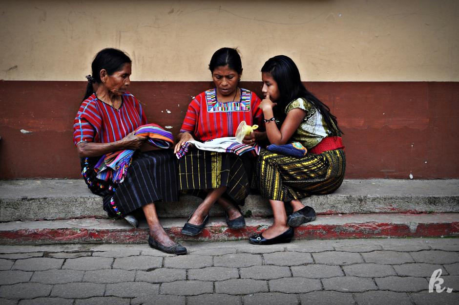 Kobiety z San Marcos La Laguna - foto
