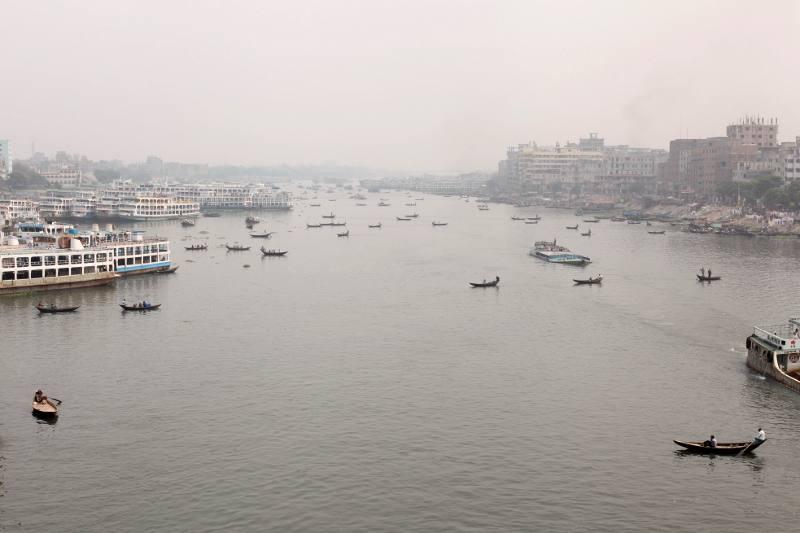 Poranek w stolicy Bangladeszu
