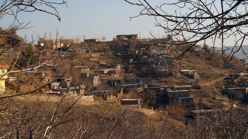 Kurdyjska wioska w Iraku