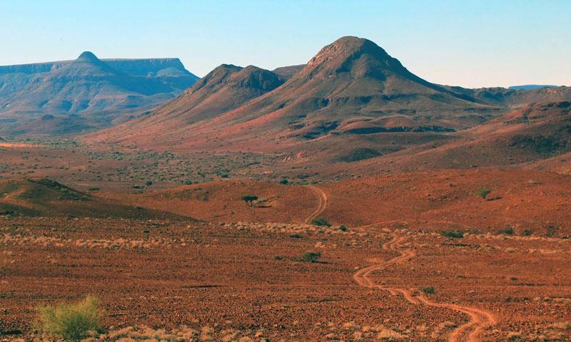 Podróż przez Namibię