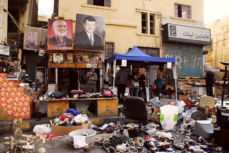 Bliskowschodni bazar - zdjęcia z Jordanii