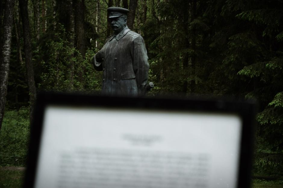 Pomnik Józef Stalin - foto