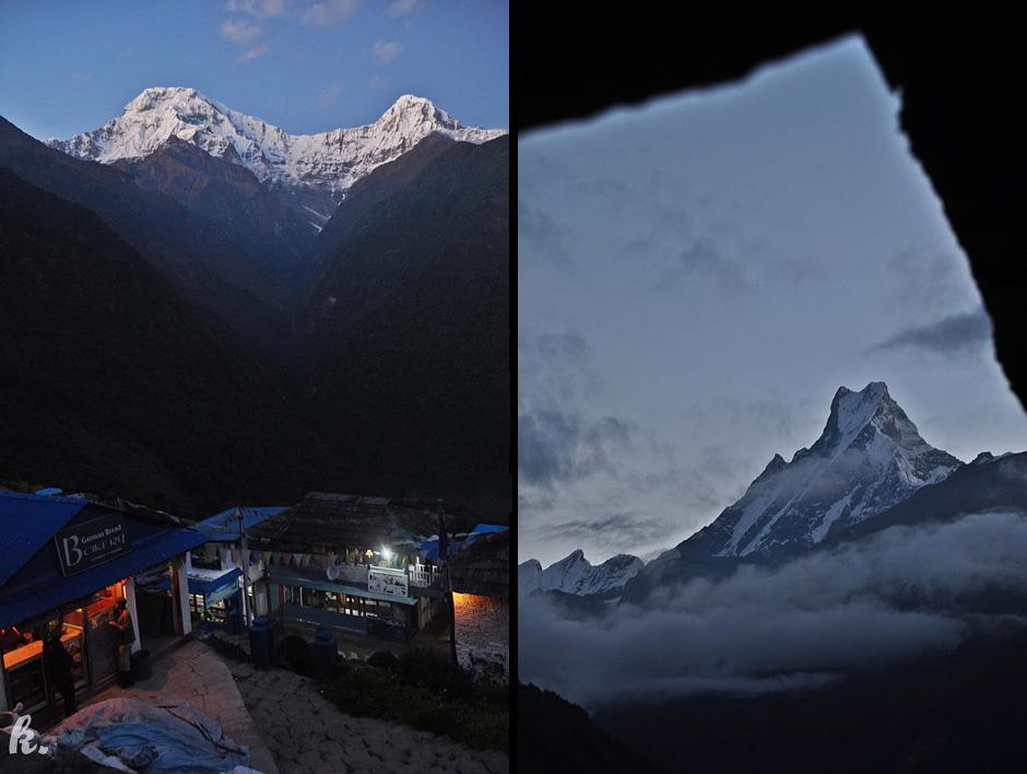 Zmrok w Himalajach - zdjęcia z Nepalu