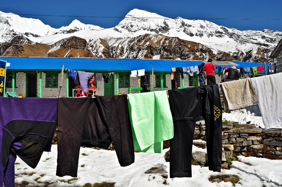 Obóz w Himalajach