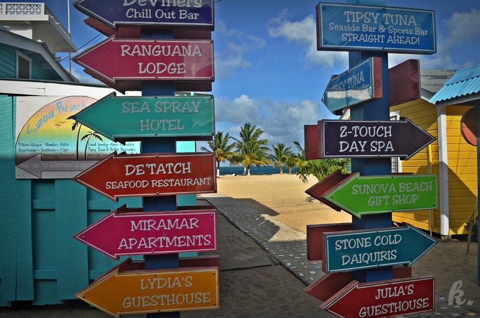 Rozrywka na Karaibach - zdjęcia z Belize