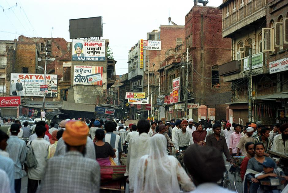 Tłumy na ulicach Pakistanu