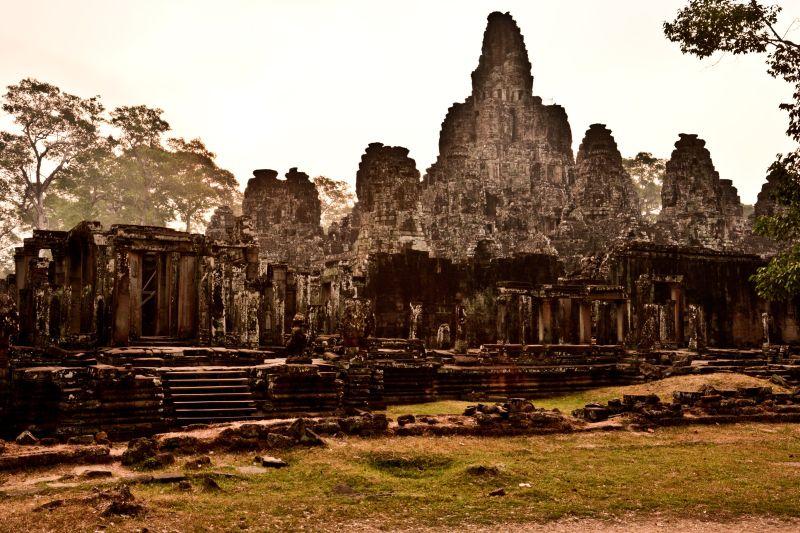 Bajon w Kambodźy