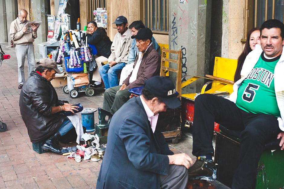 Limpiabotas, Bogota