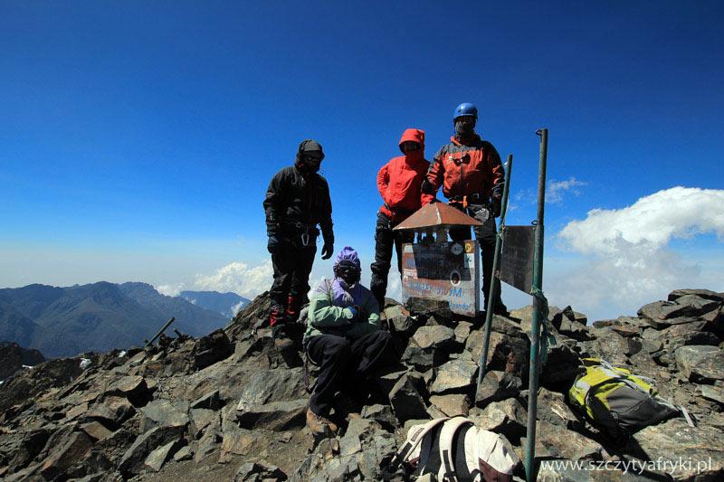 Góry Afryki - na szczycie Rwenzori w Ugandzie