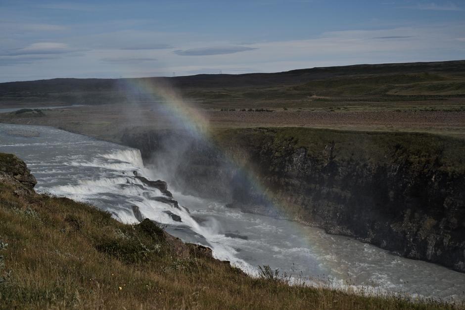 Co warto zobaczyć na Islandii - zdjęcia wodospadu Gullfoss