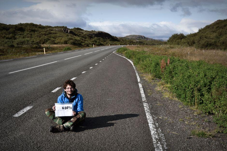 Autostopowicz na Islandii - zdjęcia z podróży