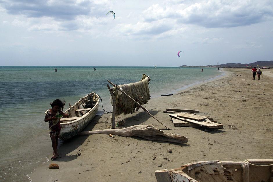 Rybacy w Kolumbii - foto