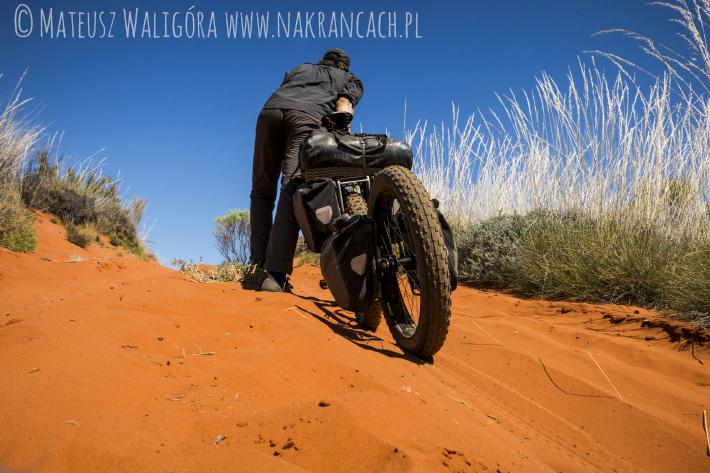 Rowerem przez CSR, Australia