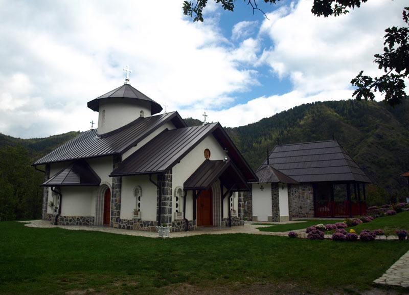 Monastyr Dobrava w Serbii