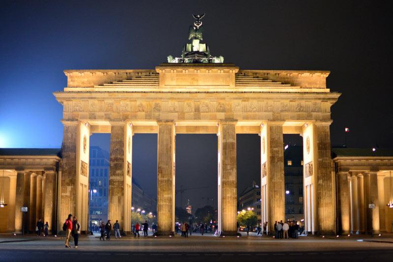 Brama Brandenburska w Berlinie. (Fot. Paweł Szpala)