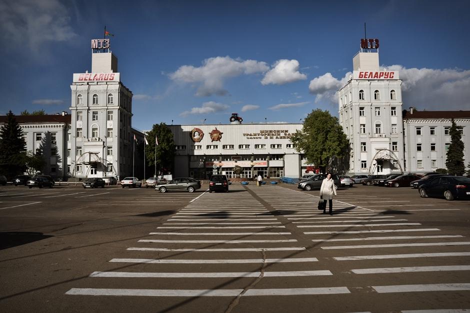 Przemysł na Białorusi. Mińska Fabryka Traktorów